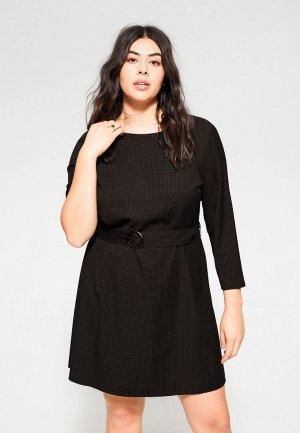 Платье Violeta by Mango - DARK. Цвет: черный