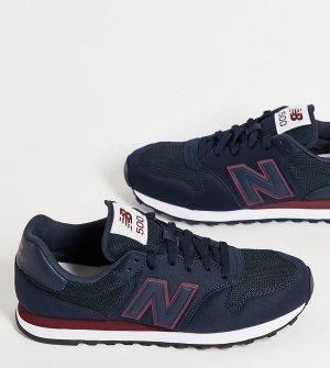 Темно-синие классические кроссовки 500-Темно-синий New Balance