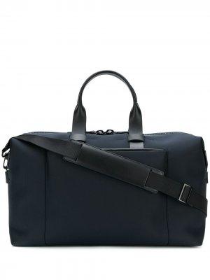 Дорожная сумка Weekender Troubadour. Цвет: синий