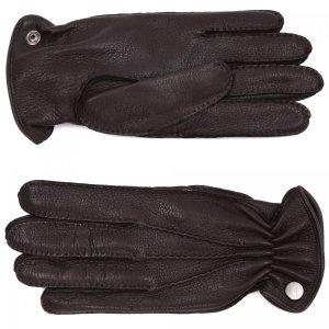 Перчатки Moreschi. Цвет: коричневый