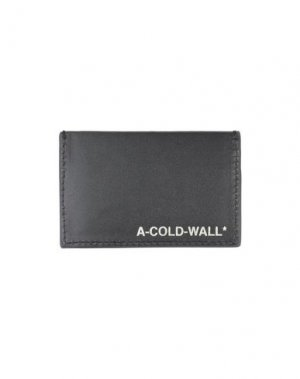 Чехол для документов A-COLD-WALL*. Цвет: черный