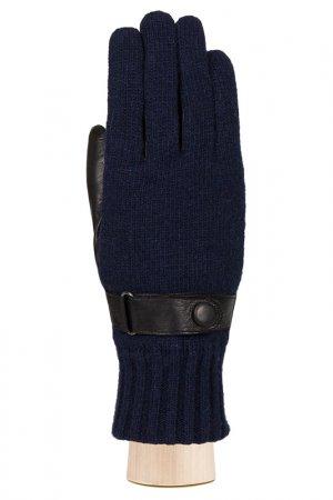 Перчатки Labbra. Цвет: черный, темно-синий