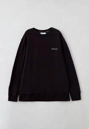 Свитшот Calvin Klein BIG & TALL. Цвет: черный