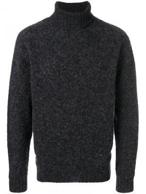 Howlin свитер с высоким воротником Howlin'. Цвет: серый