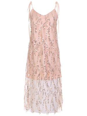 Платье коктейльное с пайетками YANA
