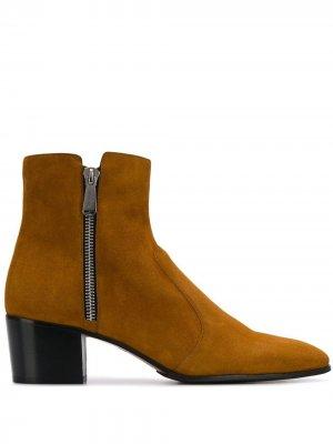 Ботинки по щиколотку Anthos Balmain. Цвет: коричневый