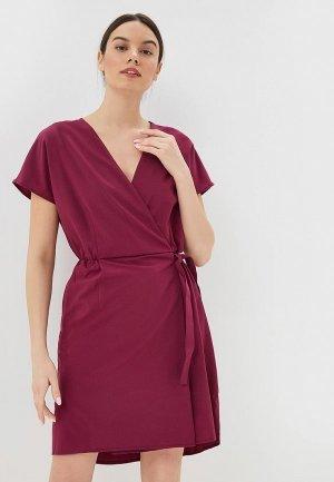 Платье Jack Wolfskin VICTORIA DRESS. Цвет: бордовый