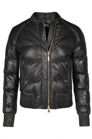 Куртка Just Cavalli. Цвет: черный