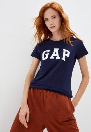 Футболки 2 шт. Gap. Цвет: разноцветный