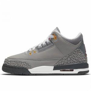 Air 3 Retro (GS) Jordan. Цвет: серый