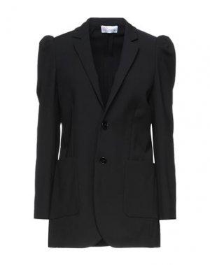 Пиджак REDValentino. Цвет: черный