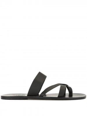 Сандалии Jason Ancient Greek Sandals. Цвет: черный