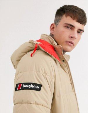 Коричневая куртка Pole 87-Коричневый Berghaus