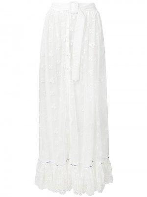 Юбка макси с поясом Off-White