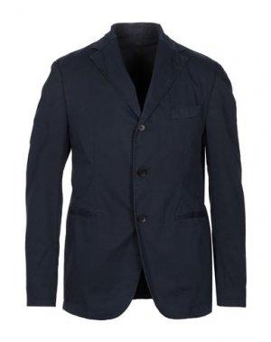 Пиджак FUTURO. Цвет: темно-синий