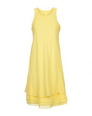 Платье до колена CANNELLA. Цвет: желтый