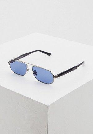 Очки солнцезащитные Jimmy Choo VIGGO/S GUA. Цвет: синий