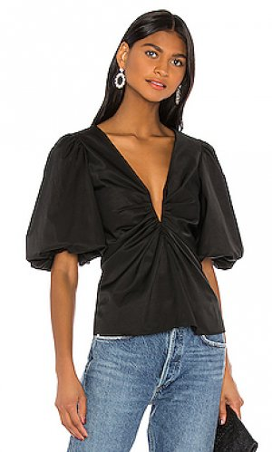 Блузка neveah Amanda Uprichard. Цвет: черный