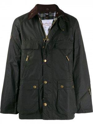 Куртка Icons B Barbour. Цвет: зеленый