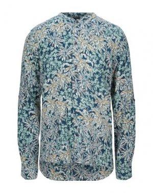 Pубашка ANERKJENDT. Цвет: цвет морской волны
