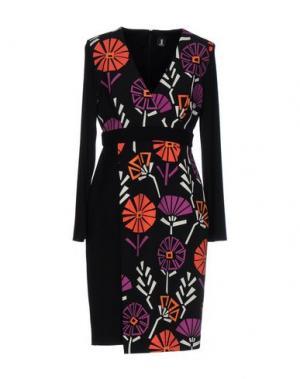 Короткое платье 1-ONE. Цвет: фиолетовый