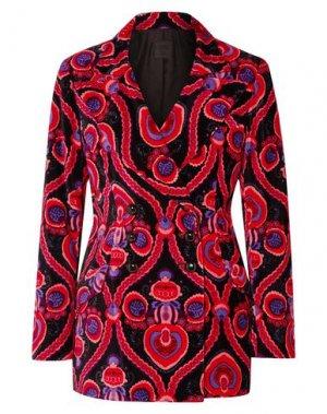 Пиджак ANNA SUI. Цвет: черный