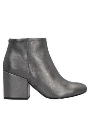 Полусапоги и высокие ботинки ANNA F.. Цвет: серый