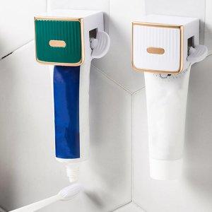 1шт Соковыжималка для зубной пасты случайного цвета SHEIN. Цвет: многоцветный