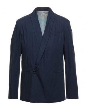 Пиджак MAISON KITSUNÉ. Цвет: темно-синий