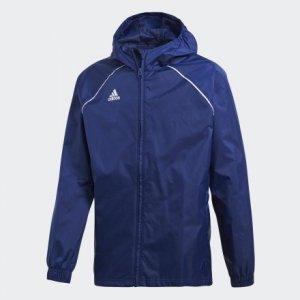 Куртка-дождевик Core 18 Performance adidas. Цвет: белый
