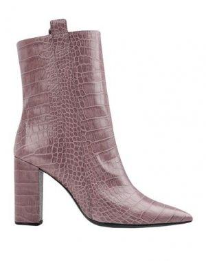 Полусапоги и высокие ботинки BRUNO PREMI. Цвет: розовато-лиловый