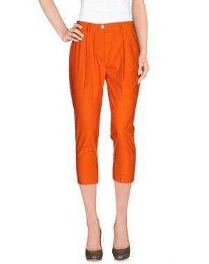 Брюки-капри BRIAN DALES. Цвет: оранжевый