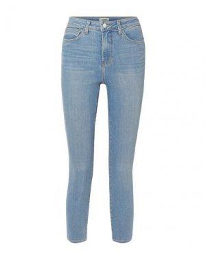 Джинсовые брюки L'AGENCE. Цвет: синий