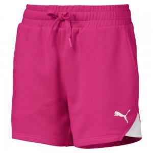 Шорты Alpha Sweat Shorts PUMA. Цвет: розовый