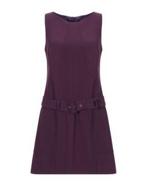 Короткое платье X'S MILANO. Цвет: фиолетовый