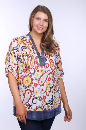 Блузa SE Stenau. Цвет: разноцветный