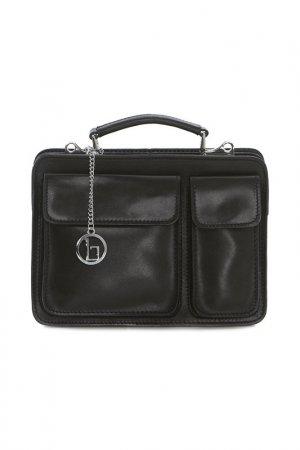 Bag Lia Biassoni. Цвет: black
