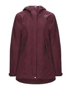 Легкое пальто THE NORTH FACE. Цвет: красно-коричневый