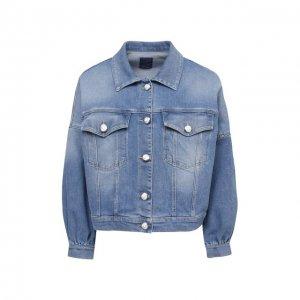Джинсовая куртка Jacob Cohen. Цвет: синий