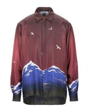 Pубашка CASABLANCA. Цвет: баклажанный