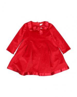 Платье BIMBALÒ. Цвет: красный