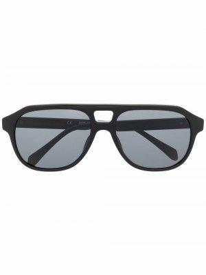 Солнцезащитные очки-авиаторы Zadig&Voltaire. Цвет: черный