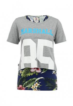 Комплект: футболка и майка Franklin & Marshall. Цвет: разноцветный