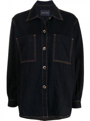 Джинсовая куртка Solitare Nobody Denim. Цвет: черный