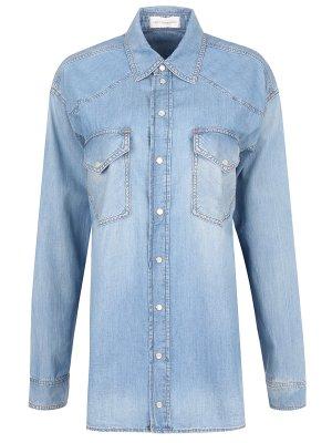 Рубашка джинсовая удлиненная FAITH CONNEXION