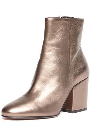 Ботинки BAGATT. Цвет: золотой