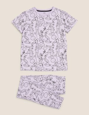 Space Jam: хлопковая пижама New Legacy ™ Marks & Spencer. Цвет: мульти