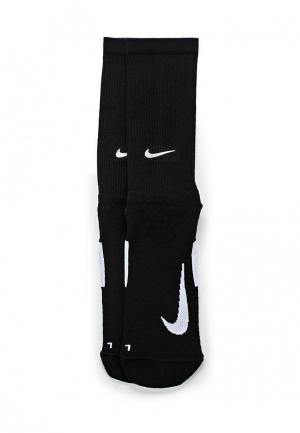 Носки Nike Unisex Elite Cushioned Crew Running Socks. Цвет: черный