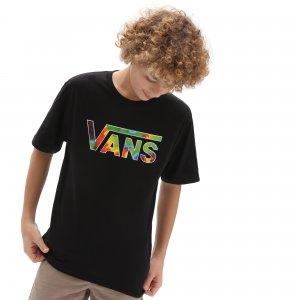 Футболка Vans Classic Logo Fill Boys. Цвет: черный