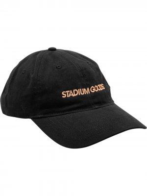Кепка с вышитым логотипом Stadium Goods. Цвет: черный